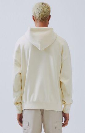 FEAR OF GOD Hoodies Monogram Street Style Long Sleeves Plain Oversized Hoodies 10