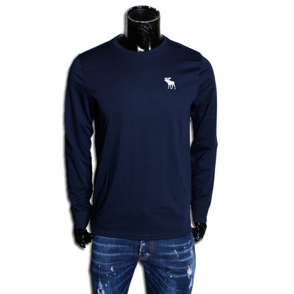 Abercrombie & Fitch Long Sleeve Crew Neck Long Sleeves Cotton Long Sleeve T-Shirts 2