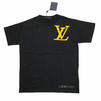 Louis Vuitton Crew Neck Short Sleeves Crew Neck T-Shirts