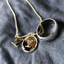 Louis Vuitton Logo Necklaces & Chokers