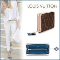 Louis Vuitton CLEMENCE Monogram Canvas Blended Fabrics Studded Bi-color