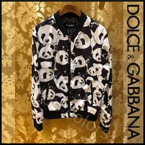 Dolce & Gabbana Short Bi-color MA-1 Bomber Jackets