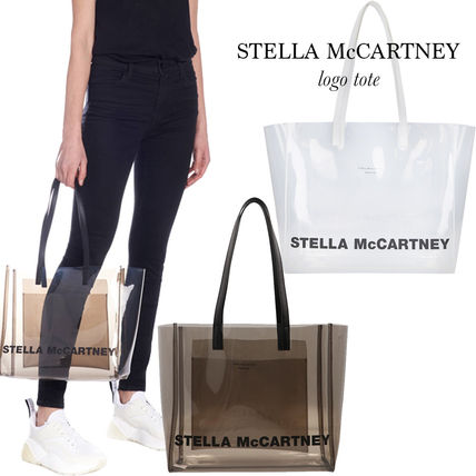 Stella McCartney 2019 SS Crystal Clear Bags Totes (541618W84711106 ... 630994a527d69