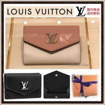 Louis Vuitton LOCKME Leather Folding Wallets