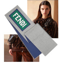 FENDI Unisex Wool Heavy Scarves & Shawls