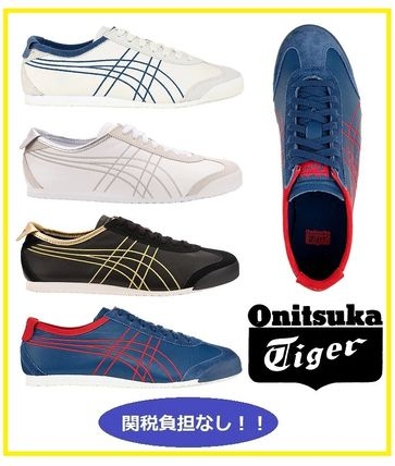 detailed look 40ebb cb71a Onitsuka Tiger 2019 SS Unisex Plain Leather Sneakers by ...