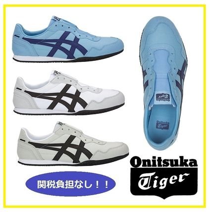 the latest 90e08 9ed19 Onitsuka Tiger 2019 SS Unisex Plain Loafers & Slip-ons