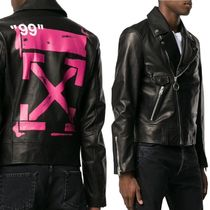 Off-White Biker Jackets