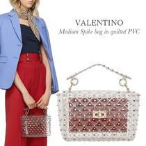 VALENTINO Crystal Clear Bags Totes