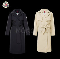 MONCLER ROCHE Casual Style Plain Medium Trench Coats
