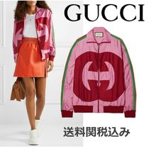 GUCCI Stripes Casual Style Jackets