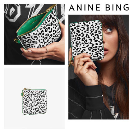 Other Animal Patterns Leather Coin Purses