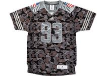 A BATHING APE Camouflage Unisex Street Style Collaboration Short Sleeves