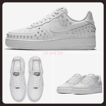 Nike AIR FORCE 1 Casual Style Unisex Studded Street Style Low-Top Sneakers