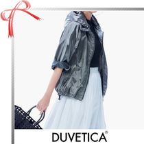 DUVETICA Short Casual Style Plain Jackets