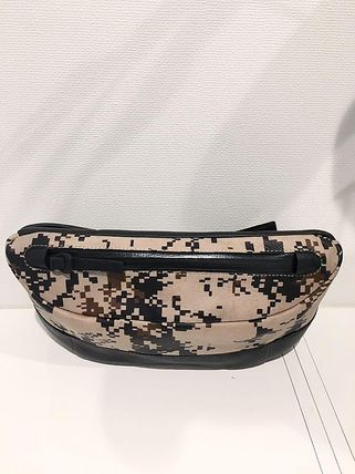 Camouflage Collaboration Leather Bags