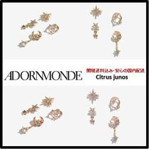 ADORNMONDE Costume Jewelry Casual Style Handmade Brass