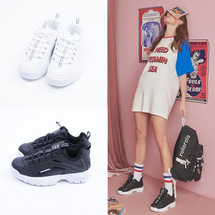 Collaboration Low-Top Sneakers