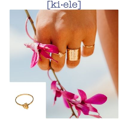 Casual Style Unisex Rings