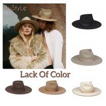 lack of color Unisex Wide-brimmed Hats