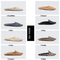 dolce vita Casual Style Plain Other Animal Patterns Flats