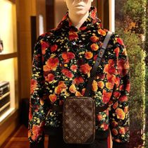 Louis Vuitton Flower Patterns Blended Fabrics Street Style Bi-color