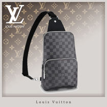 Louis Vuitton DAMIER GRAPHITE Canvas Street Style Messenger & Shoulder Bags