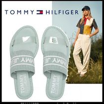 Tommy Hilfiger Open Toe Casual Style Street Style Plain Sandals