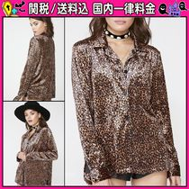 DOLLS KILL Casual Style Long Sleeves Other Animal Patterns
