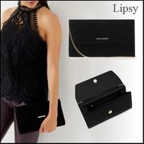 Lipsy Chain Plain Party Style Clutches