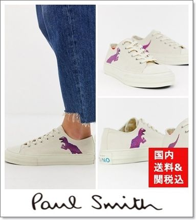 Plain Toe Rubber Sole Street Style Other Animal Patterns