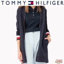 Tommy Hilfiger Stripes Casual Style Long Jackets