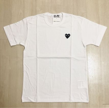 COMME des GARCONS More T-Shirts Crew Neck Unisex Street Style Short Sleeves Logo Designers 11