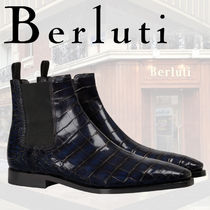Berluti Leather Chelsea Boots Chelsea Boots