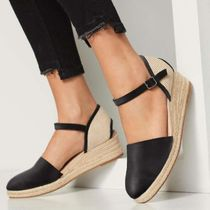 ALDO Round Toe Casual Style Plain Leather Oversized