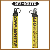 Off-White Street Style Leather Keychains & Holders