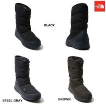 THE NORTH FACE Unisex Street Style Plain Boots Boots