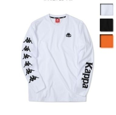 Kappa Long Sleeve Unisex Street Style Long Sleeves Plain Cotton