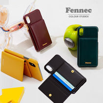 Fennec Unisex Leather Smart Phone Cases