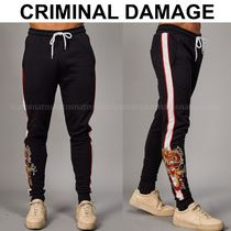 CRIMINAL DAMAGE Sweat Street Style Joggers & Sweatpants