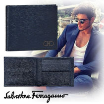 Salvatore Ferragamo Leather Folding Wallets