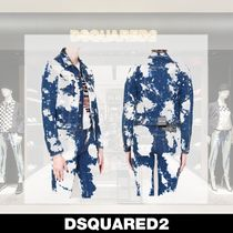 D SQUARED2 Denim Medium Denim Jackets Outerwear