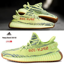 adidas YEEZY Street Style Collaboration Low-Top Sneakers