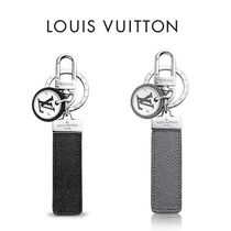 Louis Vuitton TAIGA Blended Fabrics Leather Keychains & Holders