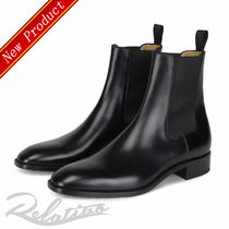 Christian Louboutin Plain Leather Chelsea Boots Chelsea Boots