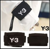 Y-3 Unisex Street Style Coin Cases
