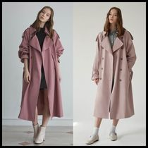 Casual Style Street Style Trench Coats