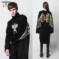 BOY LONDON Unisex Street Style Oversized Cardigans
