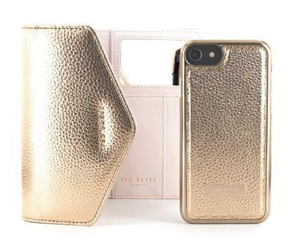 Collaboration Chain Plain Leather iPhone 8 Plus
