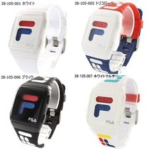 FILA Casual Style Unisex Silicon Digital Watches
